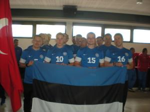 Equipe de l'Estonie