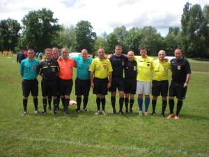 Equipe des arbitres du tournoi (Photo 2)